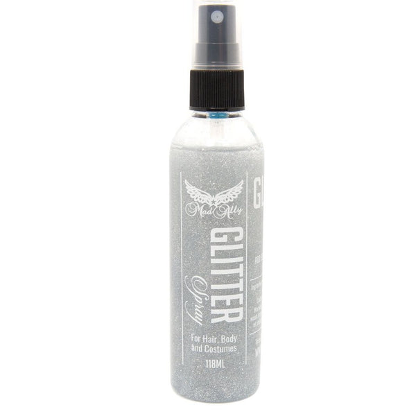 Mad Ally Glitter Spray - Silver