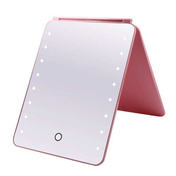Mad Ally Light Up Mirror - Pink