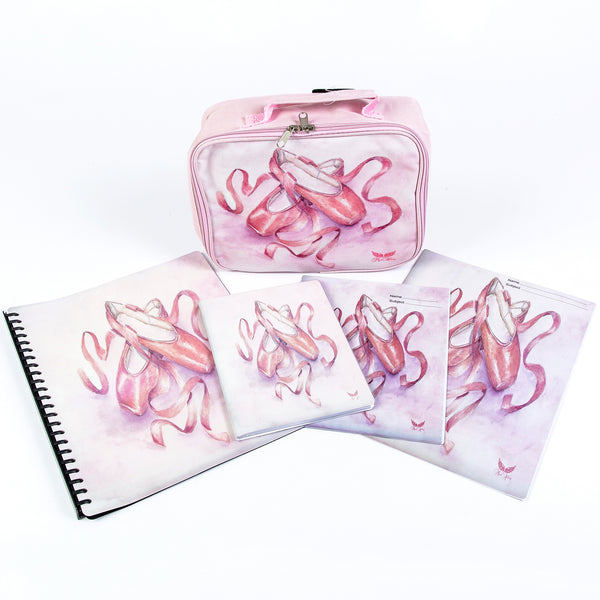 Mad Ally Pointe Shoe Note Book