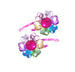 Pink Poppy Multi Colour Gem Hairclips