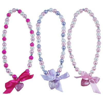 Pink Poppy Sparkle Princess Necklace