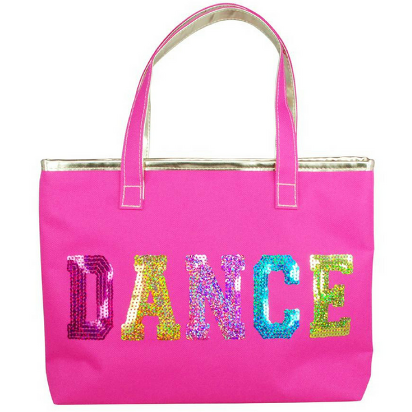 Pink Poppy Dance In Style Tote Bag - Pink