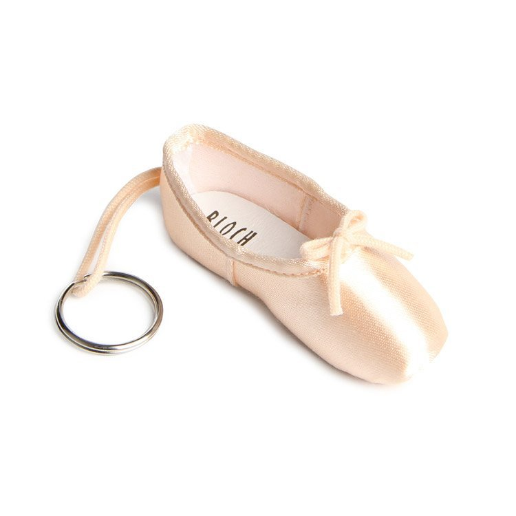 Bloch Pointe Shoe Key Ring - Pink
