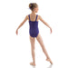 PW Dancewear Children's Rani Wide Strap Leotard - Purple
