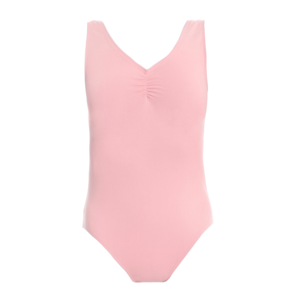 Ditto Dancewear Children's Regulation Cotton Lycra Leotard - Pale Pink