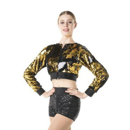 Studio 7 Adult's Stage Lights Cropped Jacket