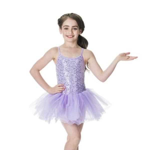 Studio 7 Children's Sequin Tutu Dress - Lilac