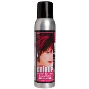 Smart Beauty Temporary Colour Hairspray - Carmine Pink