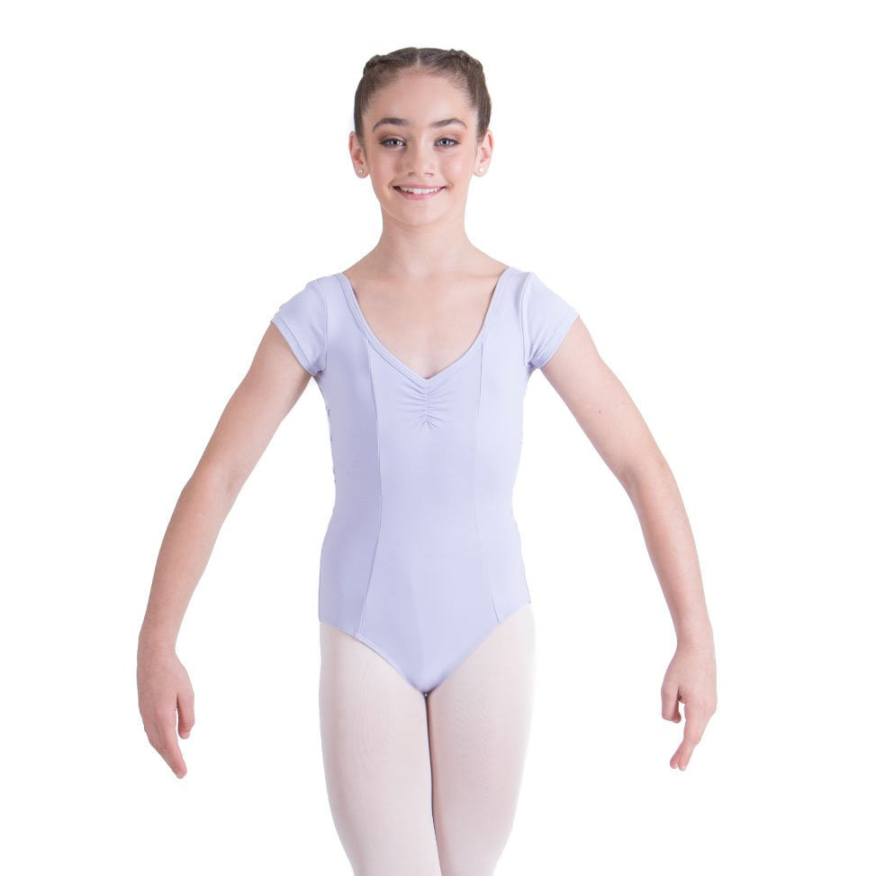Studio 7 Children's Lucinda Cap Sleeve Leotard - Lilac
