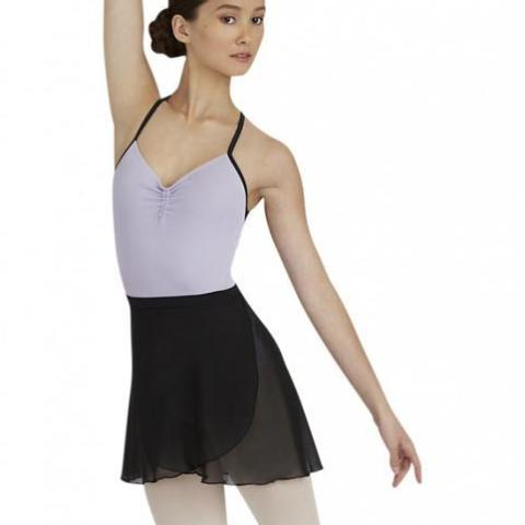 Capezio Adult's Tactel and Chiffon Ballet Wrap Skirt