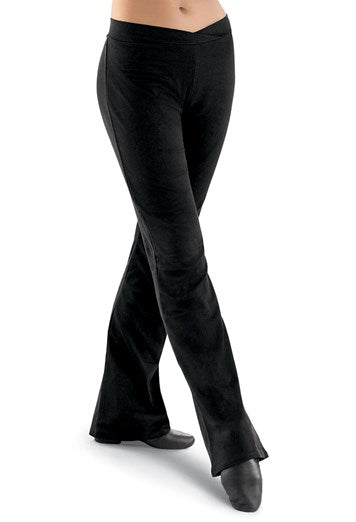 Ditto Dancewear Adult's Long Jazz Pants - Nylon Lycra