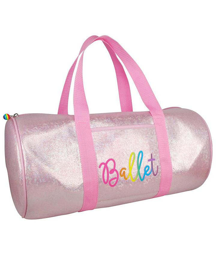 Pink Poppy Vivid Ballet Dance Bag - Pink