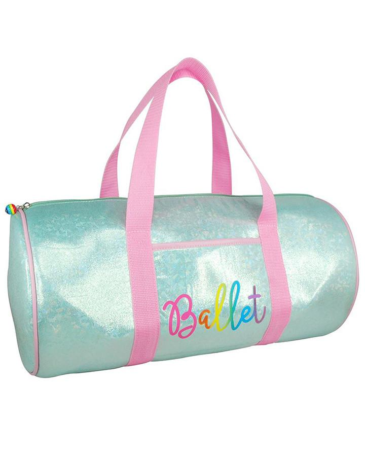 Pink Poppy Vivid Ballet Dance Bag - Mint