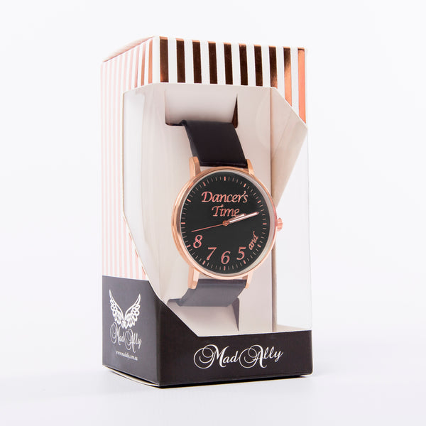 Mad Ally Dancer's Time Watch - Black