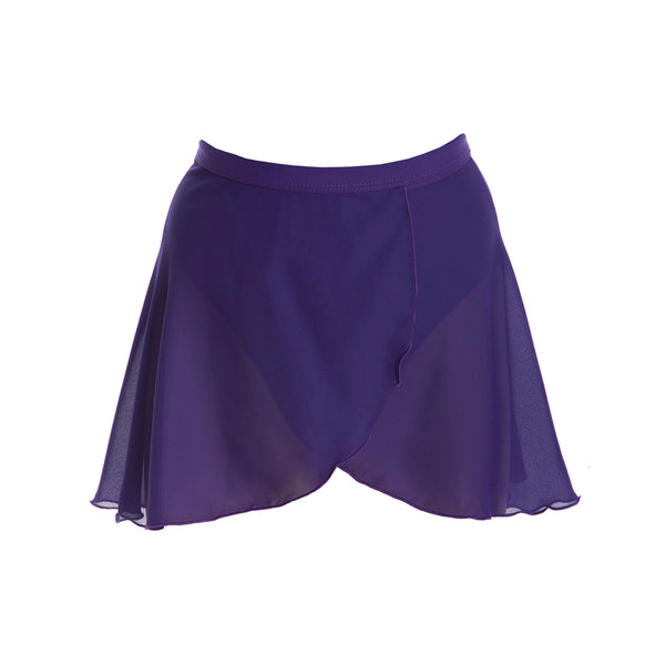 Attitude Dance Academy Children's Wrap Skirt - Purple