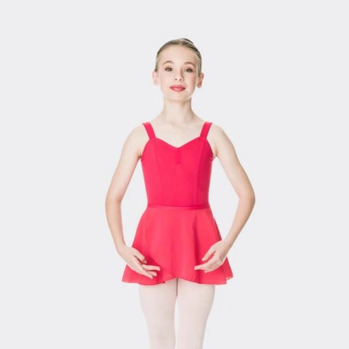 Studio 7 Children's Ballet Wrap Skirt - Red