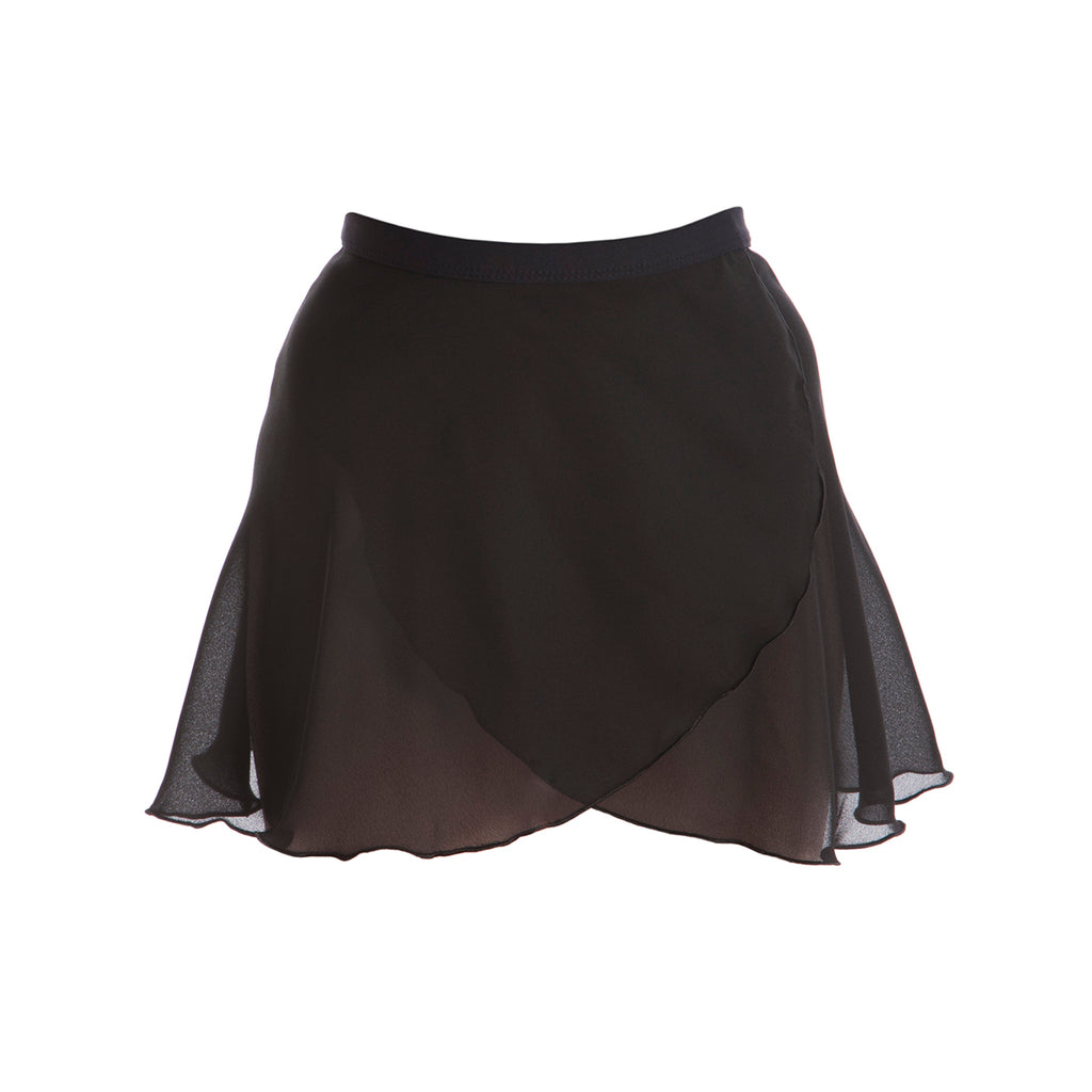 Paige Dunsdon Adult's Ballet Wrap Skirt - Black