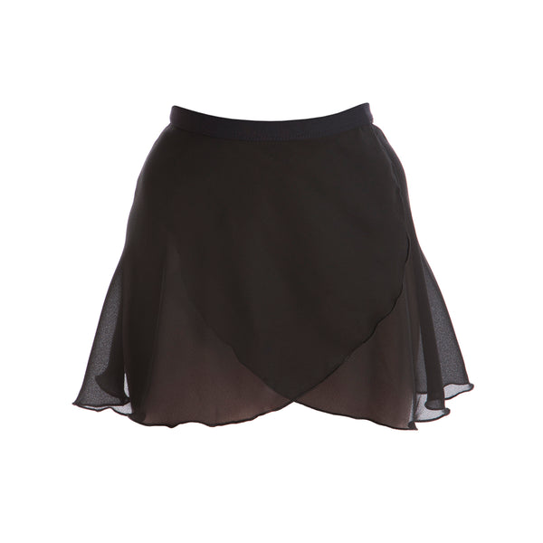 Paige Dunsdon Children's Ballet Wrap Skirt - Black