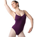 Studio 7 Adult's Camisole Strap Leotard - Plum
