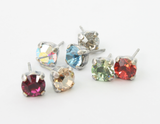 Isa Dambeck Swarovski Crystal Stud Earrings - Ditto Dancewear