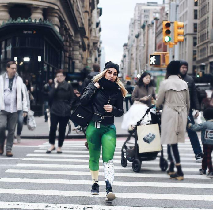 Mossy Green Leggings