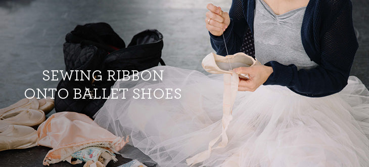 Sewing Ribbons/Elastic on Ballet Shoes