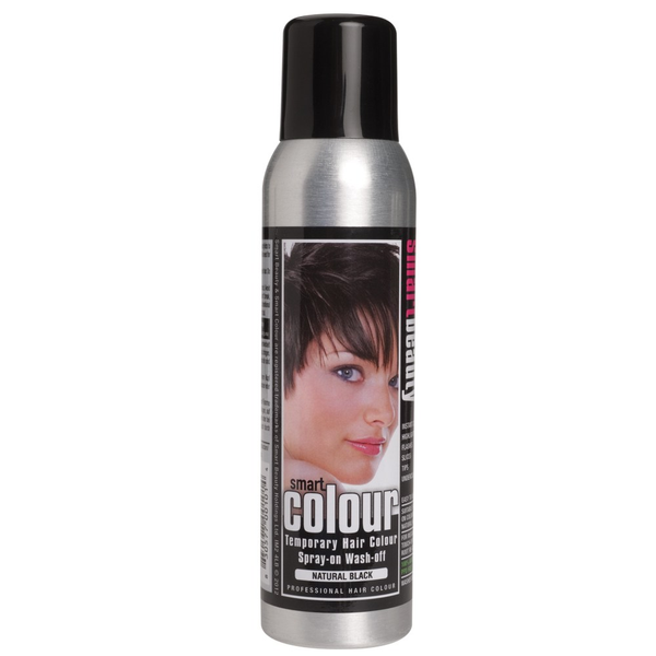 Smart Beauty Temporary Colour Hairspray - Black
