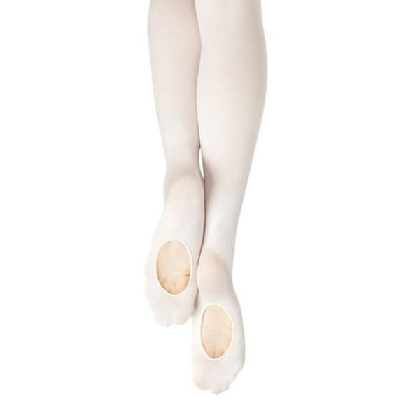 Capezio Ultra Soft Transition Tights - White