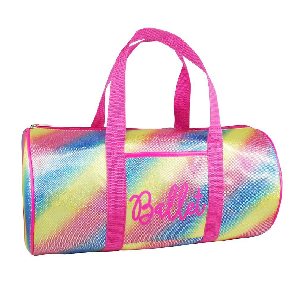 Pink Poppy Vivid Ballet Dance Bag - Rainbow