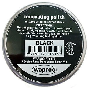 Renovating Shoe Polish