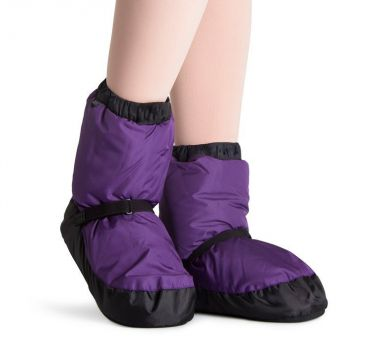 Warm Up Booties - Adults - Purple - Ditto Dancewear