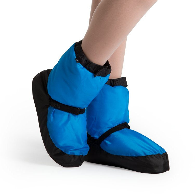 Warm Up Booties - Adults - Blue Fluro - Ditto Dancewear