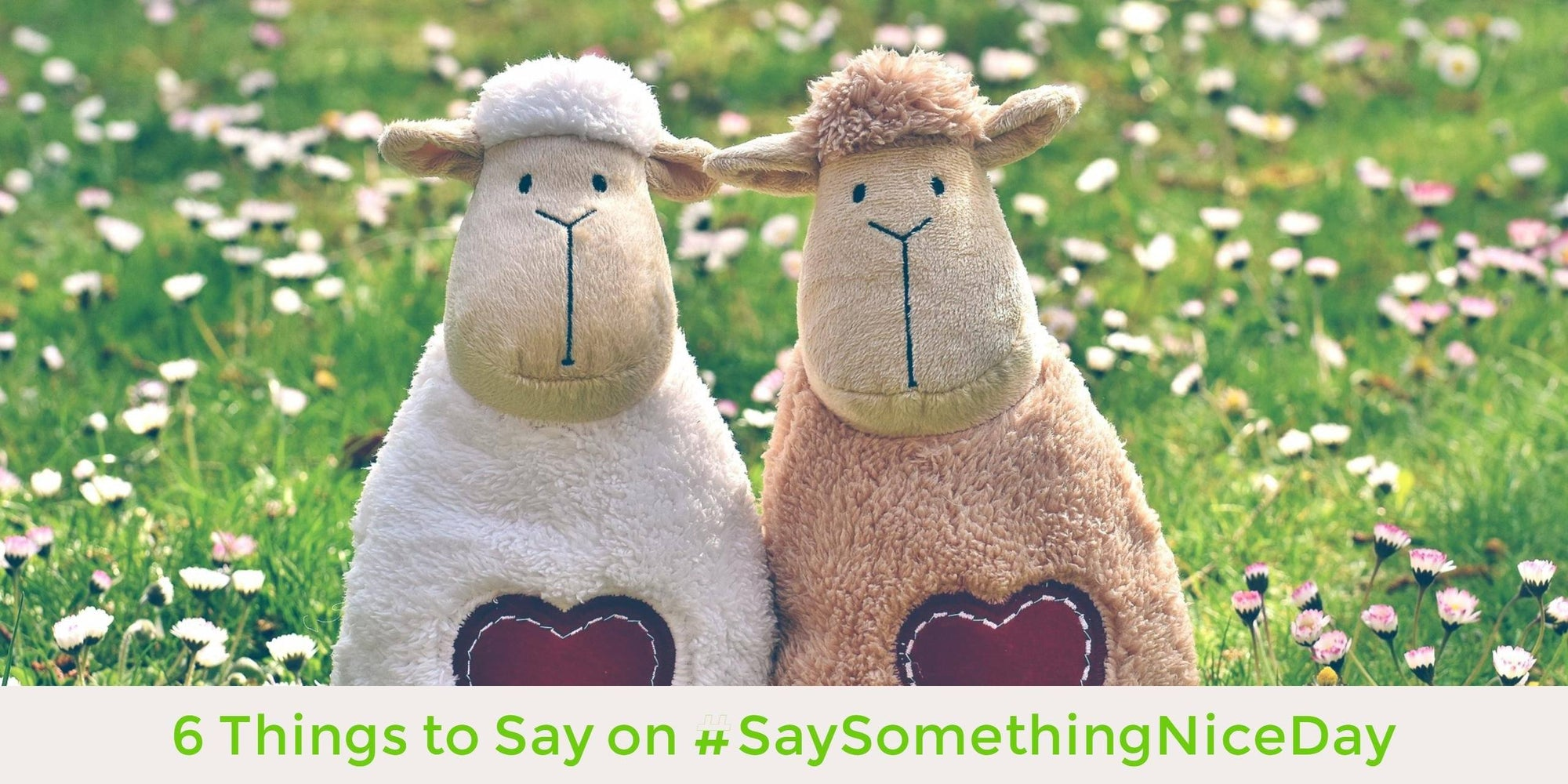6 Things to Say on #SaySomethingNiceDay