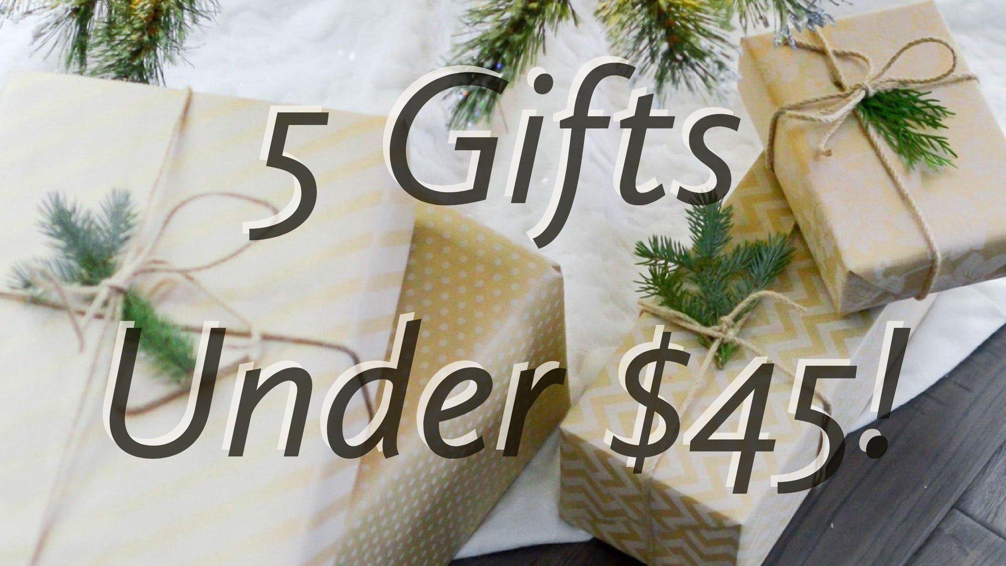 5 Gifts Under $45