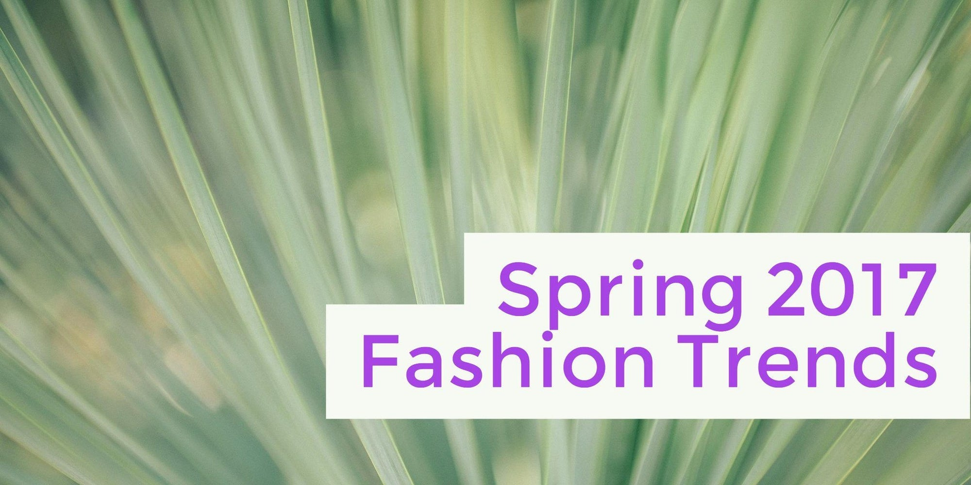 5 Spring Fashion Trends to Try Yourself