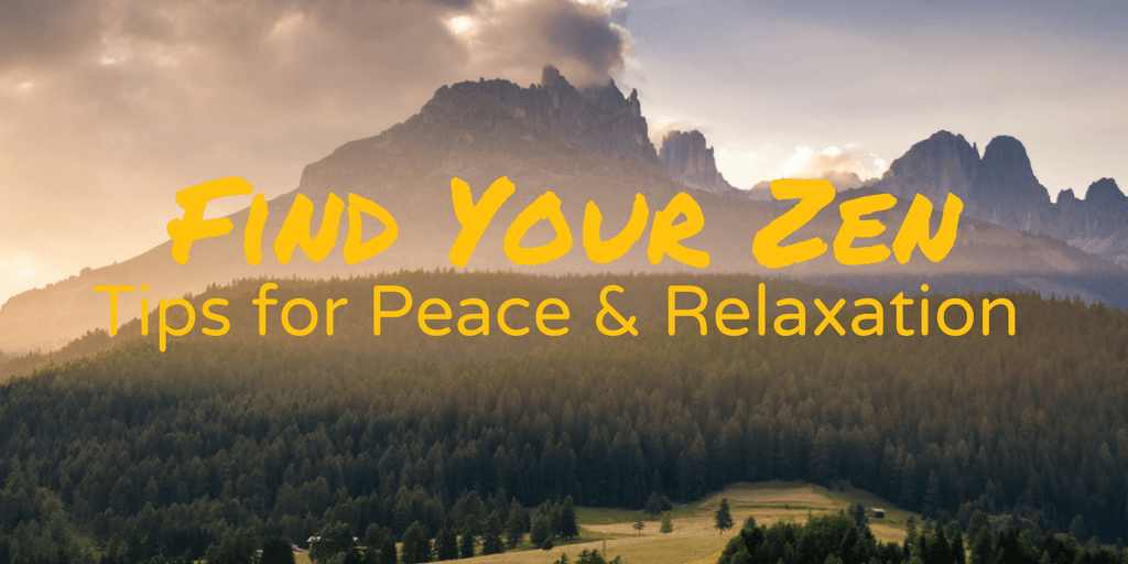 Finding Peace & Relaxation