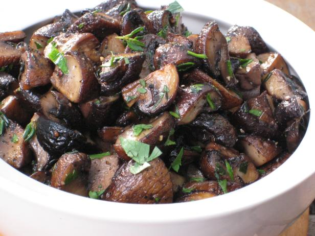 Sauteed Mushrooms from The Cooking Channel