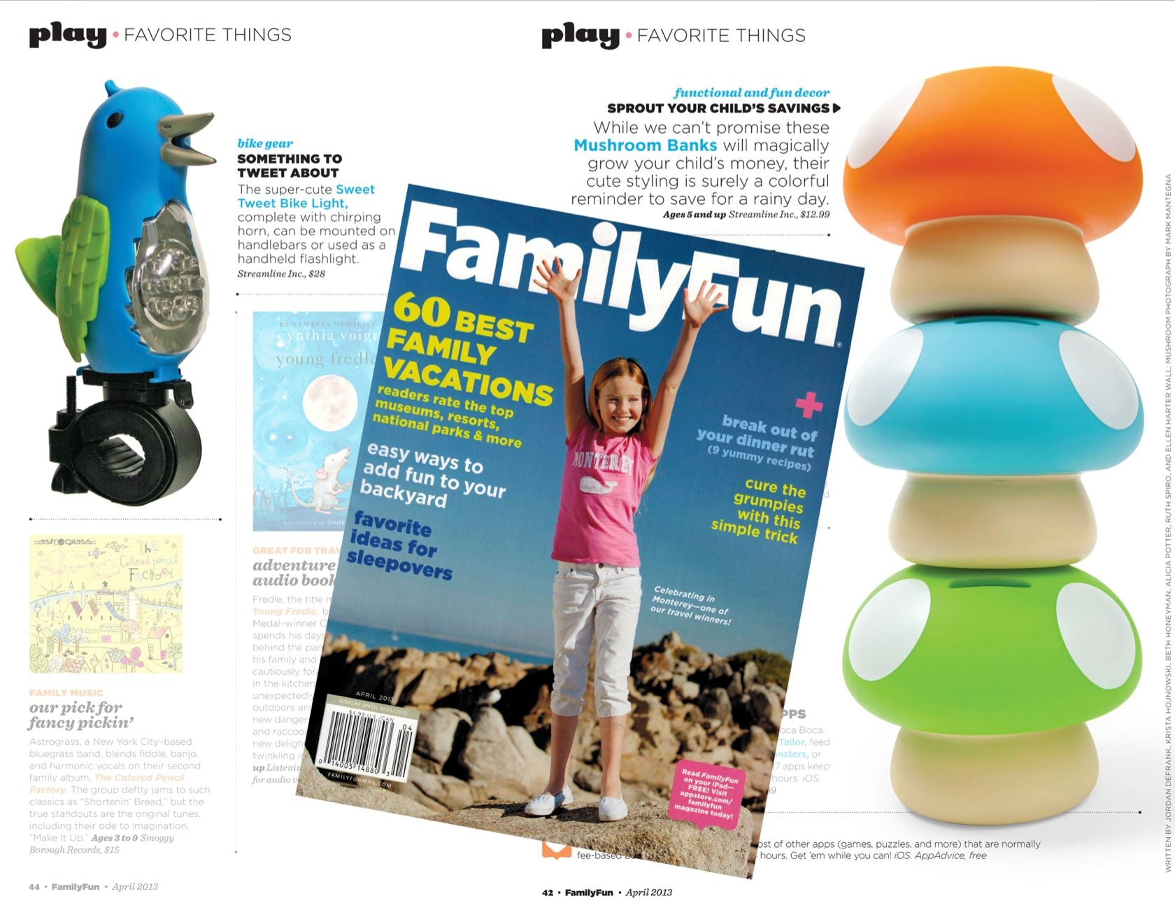 Karma Kiss Featured in Family Fun Magazine