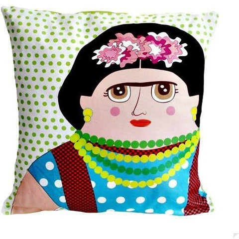 Late Greats Hand Made Frida Khalo Pillow