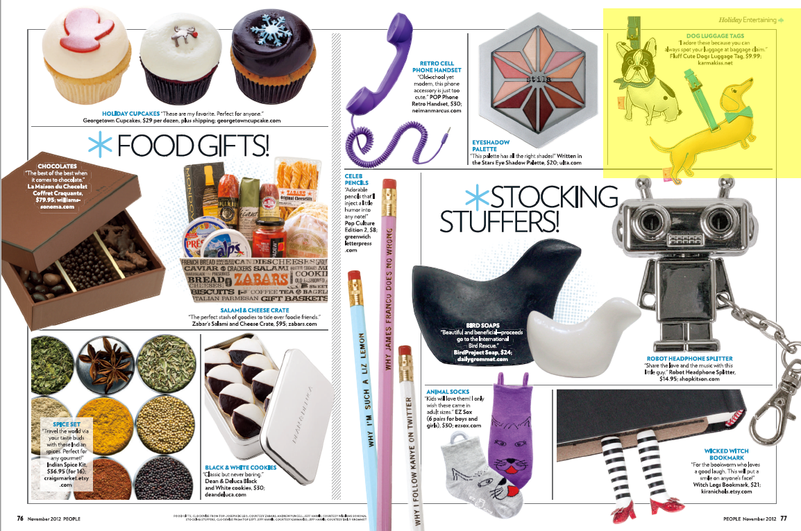 Karma Kiss Featured in People Magazine