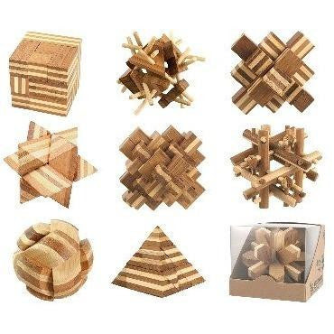 Bamboo Brainteaser Puzzles