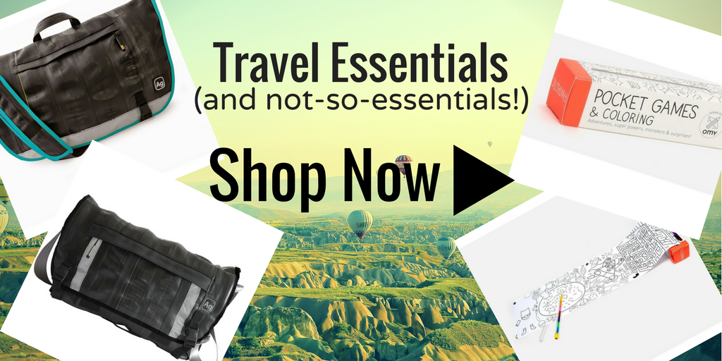 Travel Essentials -- Shop Now!