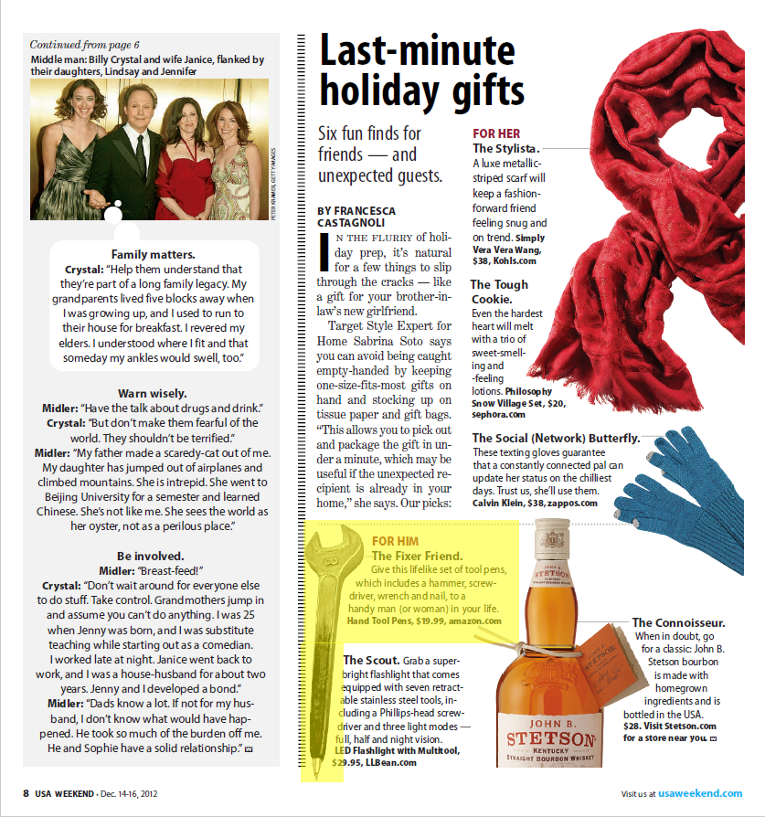 Karma Kiss Featured in USA Weekend