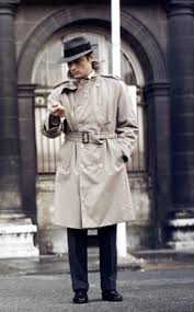 Nylon Trench Coat Men