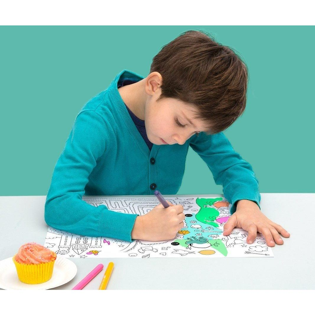 Coloring Paper Placemats
