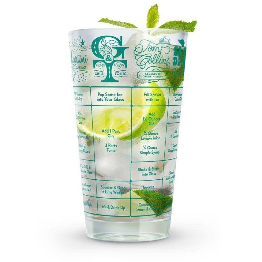 Good Measure Gin Recipe Glass