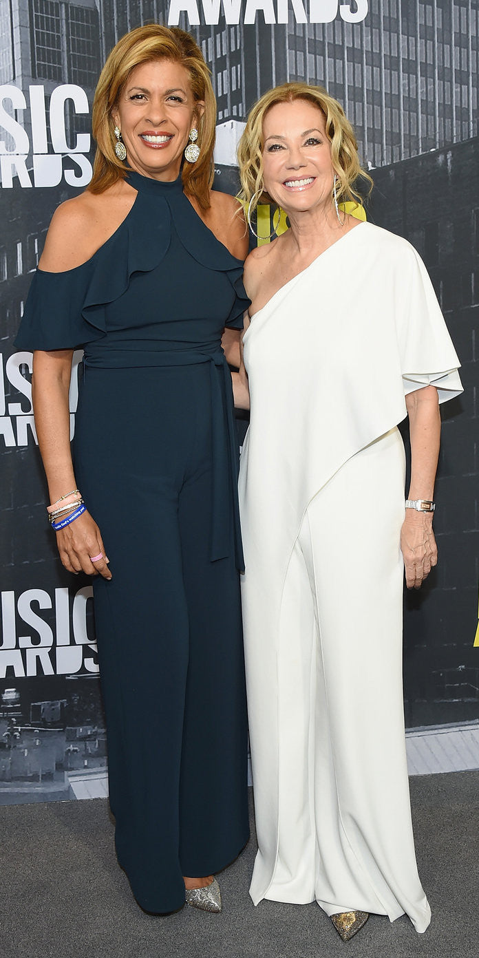 Kathie Lee Gifford and Hoda Kotb at the CMT Music Awards Getty Images