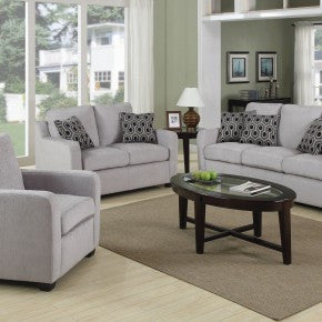 Soft Gray Living Room from Hashook