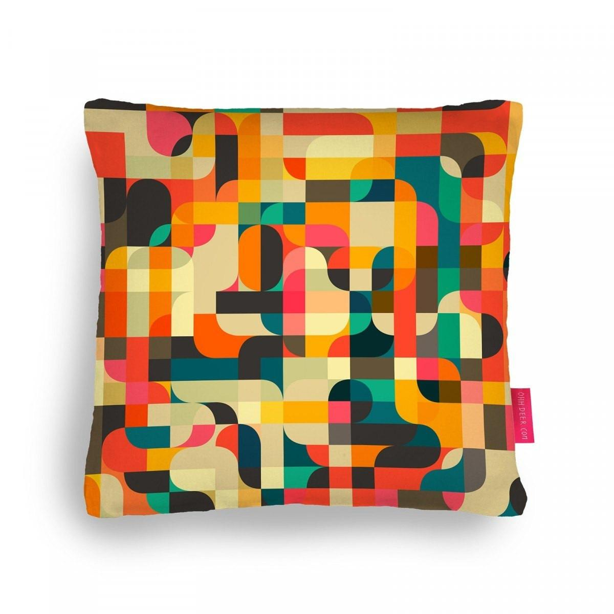 Retrospector Cushion Decorative Pillow