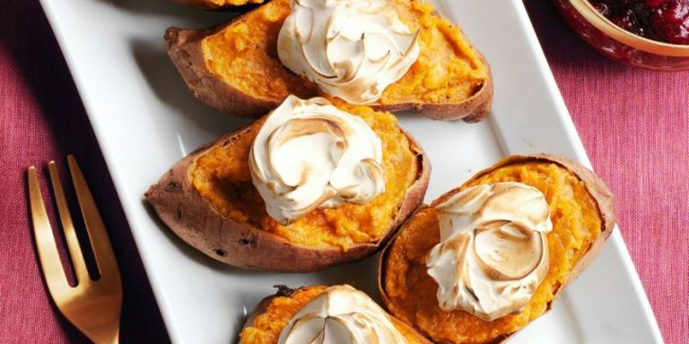 Twice-Baked Sweet Potatoes from Woman's Day